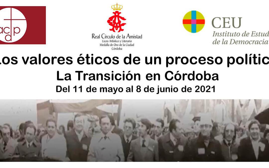 Seminario 'La Transición en Córdoba'
