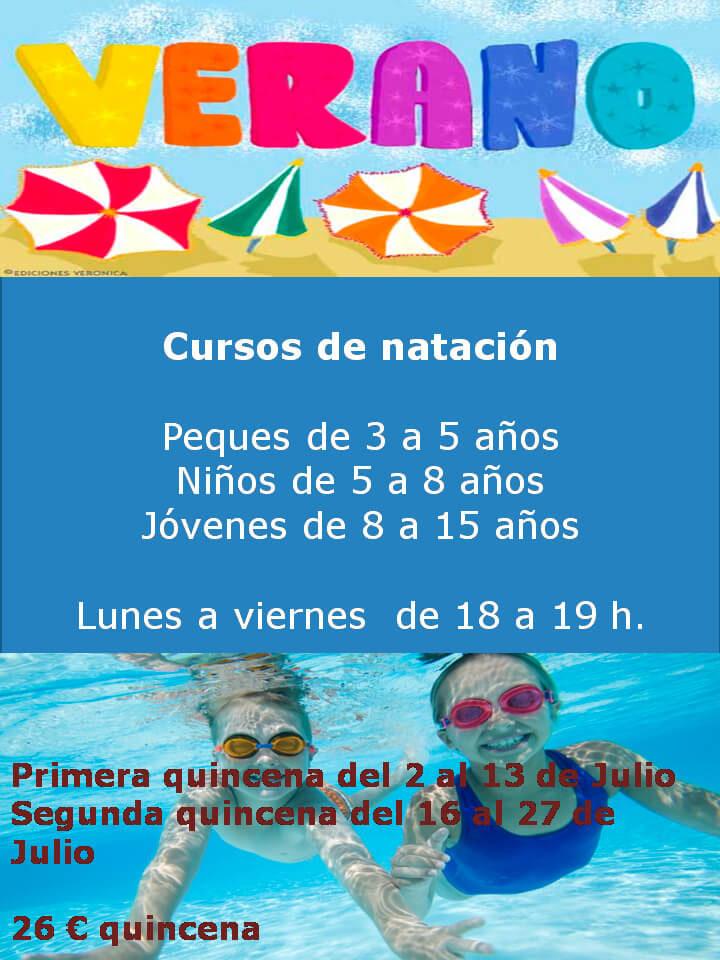 Cursos de natación Mirabueno